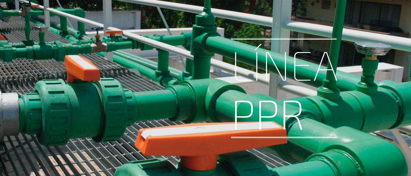 PPR tuberías y fittings
